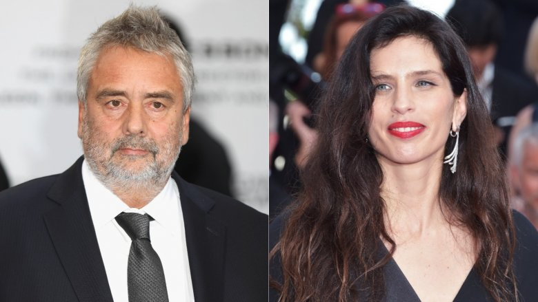 Luc Besson and Maïwenn Le Besco