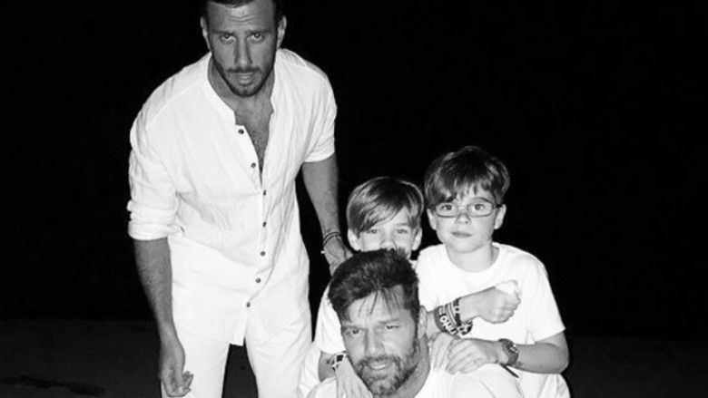 Grammys 2019: Ricky Martin takes his son as his date and