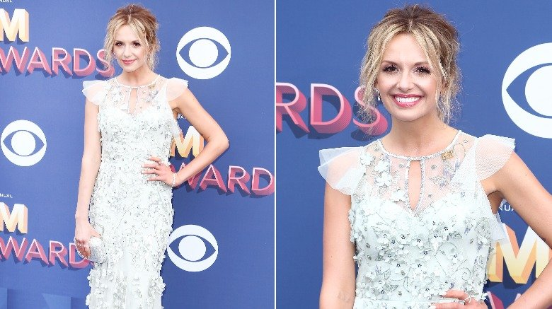 Carly Pearce at the 2018 ACM Awards