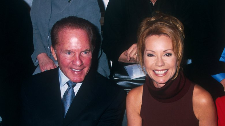 Frank Gifford and Kathie Lee Gifford