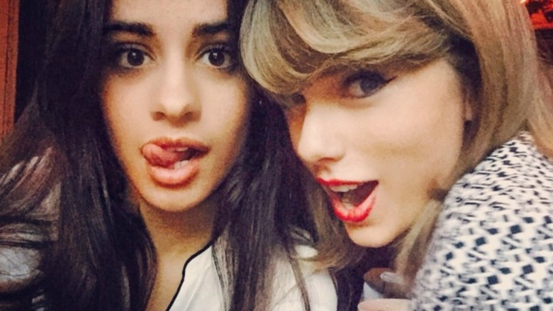 Camila Cabello and Taylor Swift