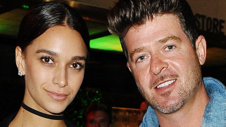 Robin Thicke Daughter Robin Thicke, April Lo...