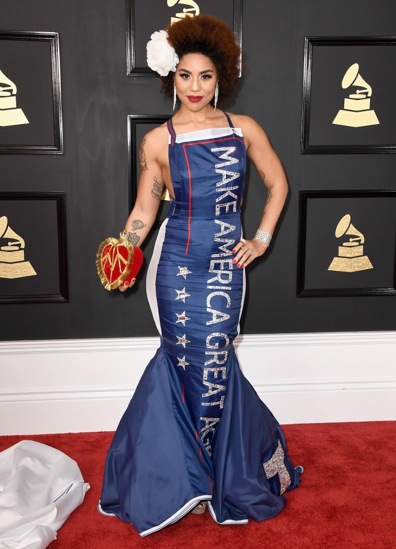 Look Up A Number >> 2017 Grammys: Worst dressed stars
