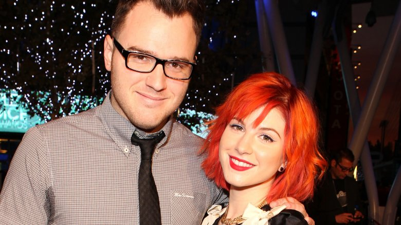 Chad Gilbert and Hayley Williams