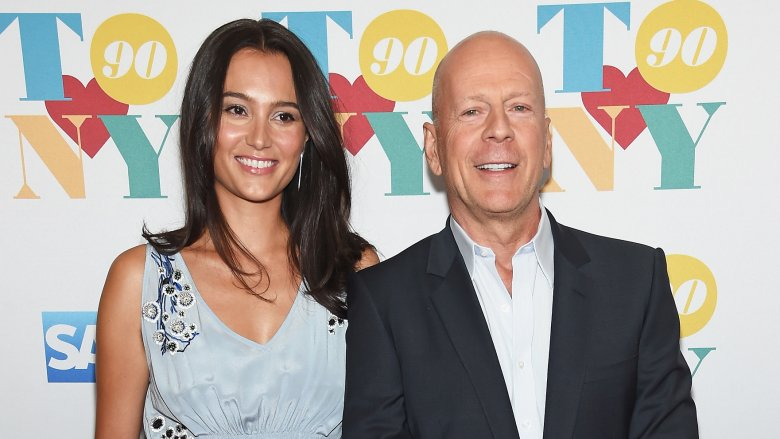 Emma Heming and Bruce Willis