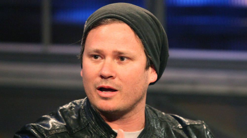 Tom DeLonge at a taping of Hoppus on Music in 2011