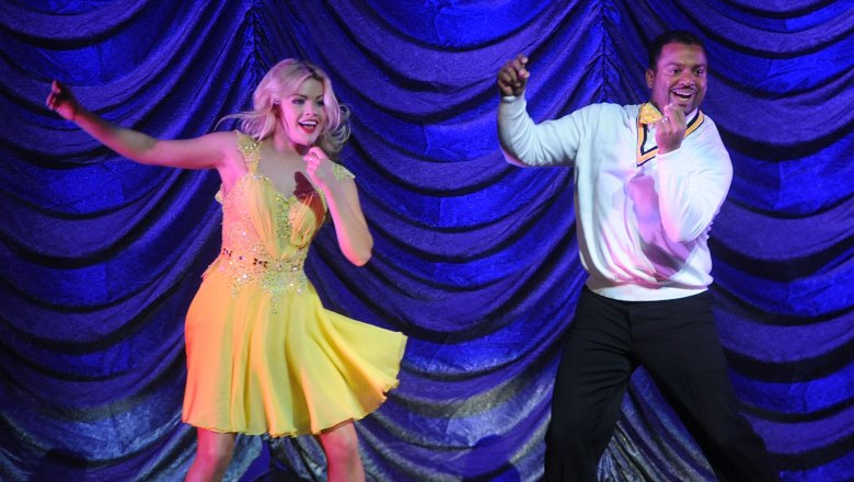 Witney Carson, Alfonso Ribeiro on Dancing With the Stars
