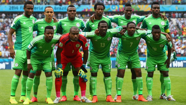 Nigerian team at World Cup 2014