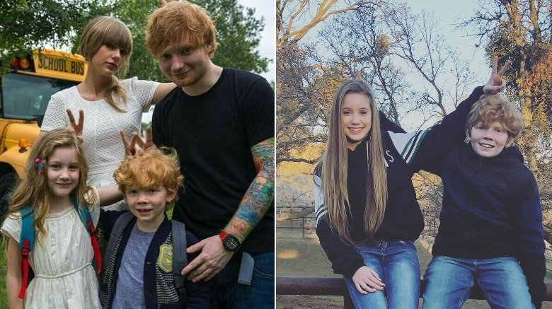 "The kids from ""Everything Has Changed"" then and now"