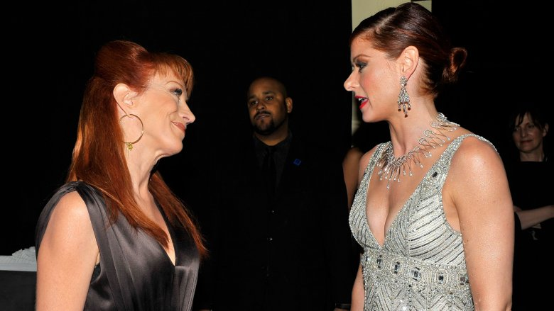 Kathy Griffin and Debra Messing