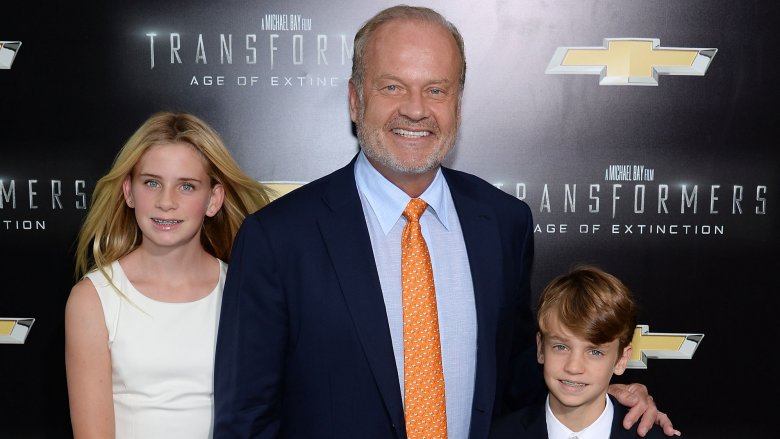 Kelsey Grammer and his children