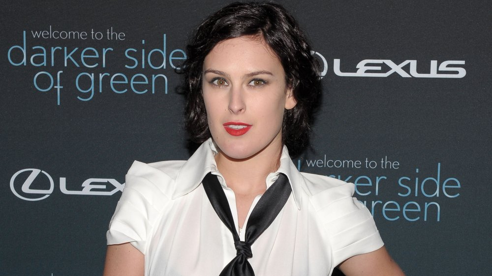 Rumer Willis in a short bob
