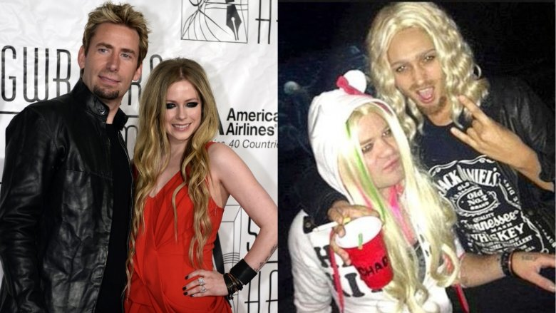 chad kroeger and avril lavigne deryck whibley and ari cooper