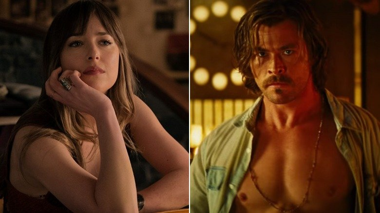 Dakota Johnson and Chris Hemsworth