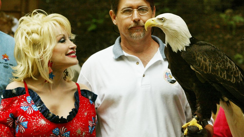 Dolly Parton at the National Zoo in Washington, D.C.