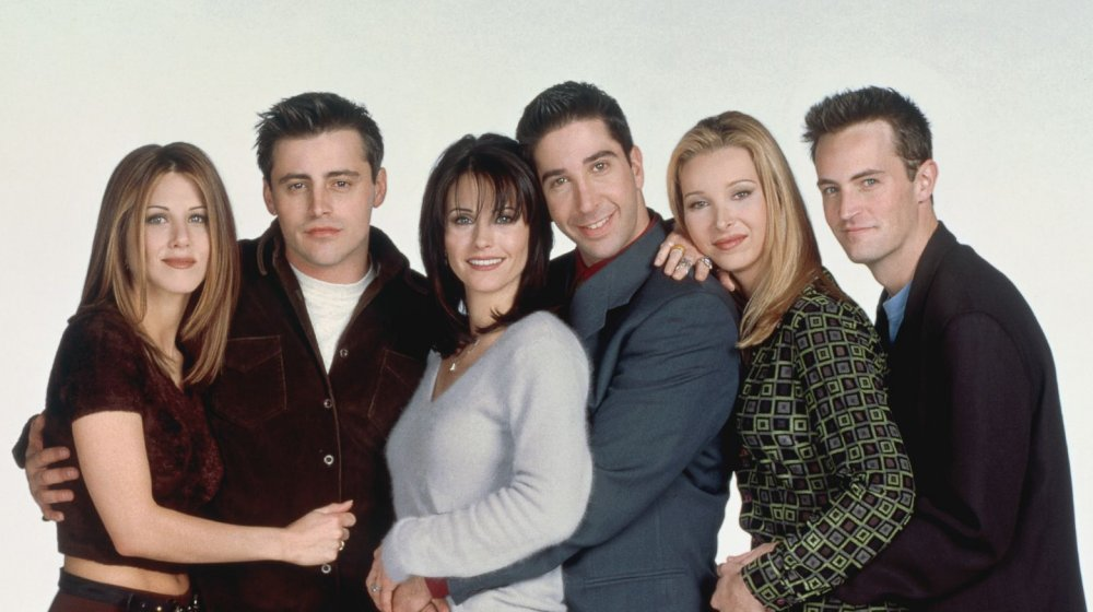 The real life partners of the Friends cast