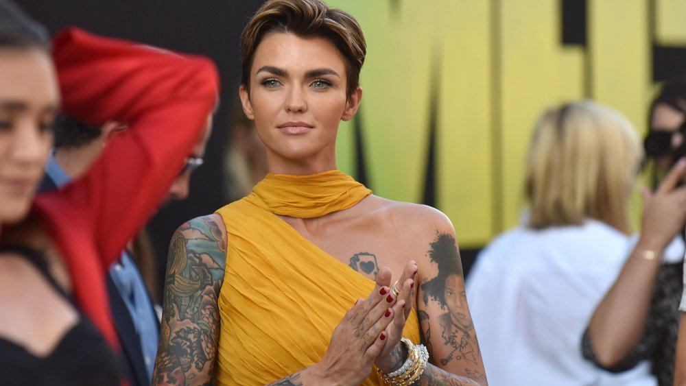 The real meaning of Ruby Rose's tattoos