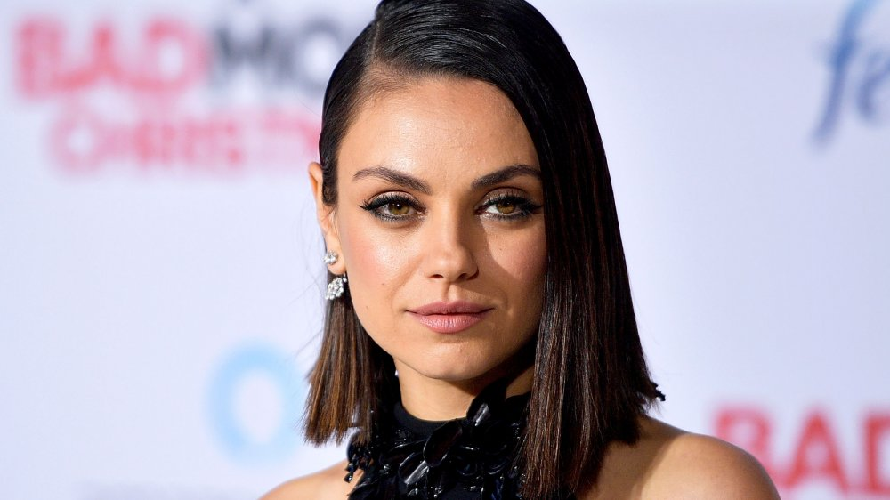 The actual factor Mila Kunis'eyes are various shades
