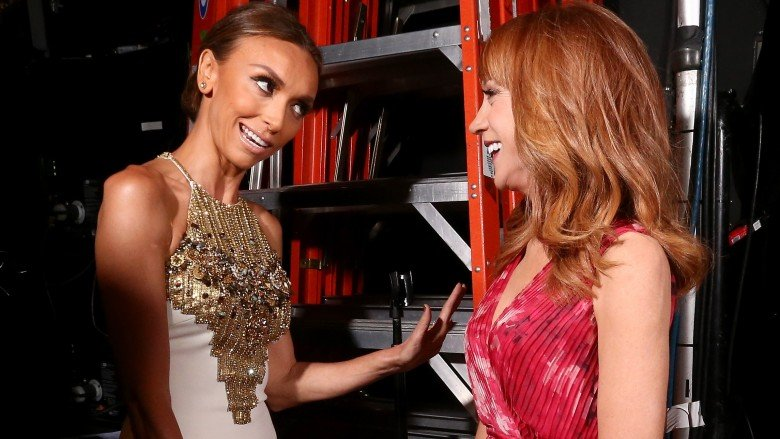Giuliana Rancic and Kathy Griffin