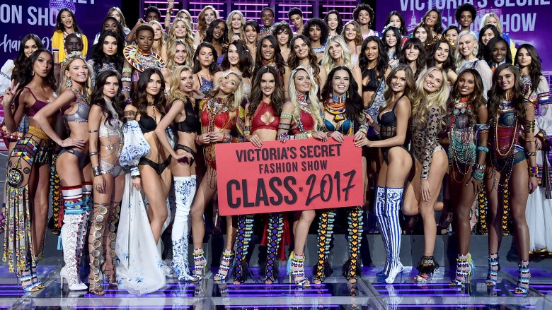 Victoria's Secret models at the Victoria's Secret Fashion Show