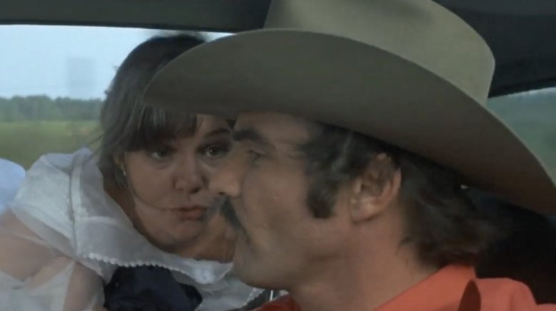 Burt Reynolds and Sally Field