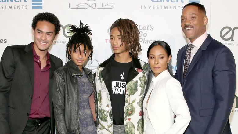 Trey Smith, Willow Smith, Jaden Smith, Jada Pinkett Smith, Will Smith
