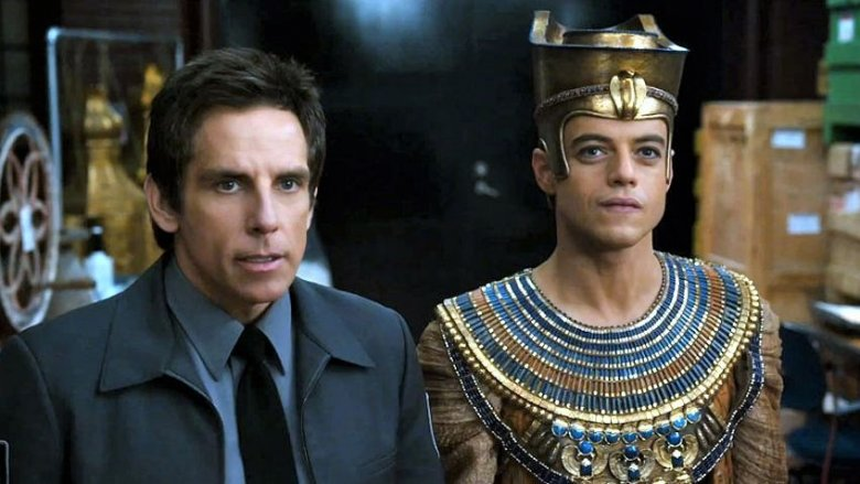 Ben Stiller and Rami Malek in Night at the Museum