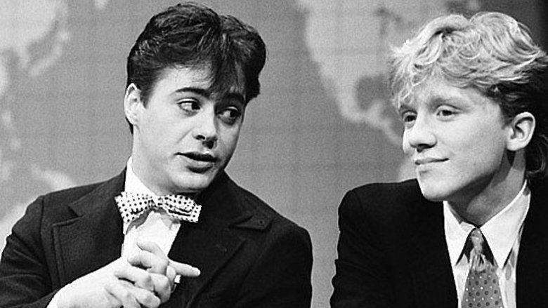 Robert Downey Jr. and Anthony Michael Hall on SNL