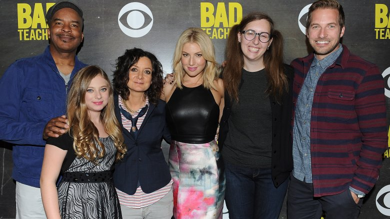Sara Gilbert and the cast of Bad Teacher