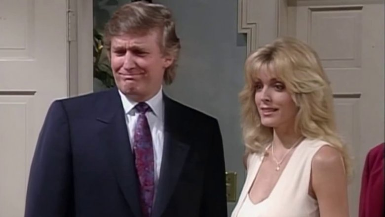 Donald Trump and Marla Maples on The Fresh Prince of Bel-Air