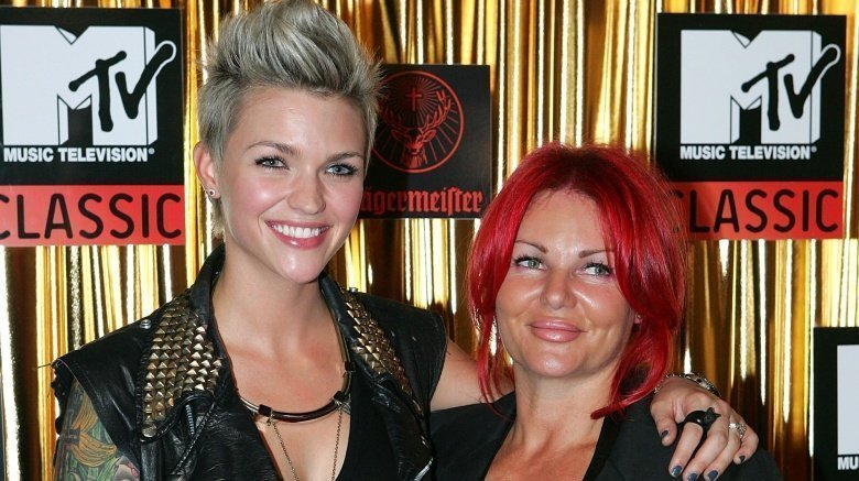 Ruby Rose and mom Katia Langenheim