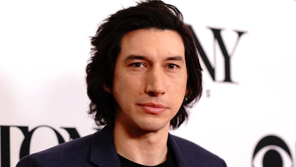 This is Adam Driver's interesting audition technique