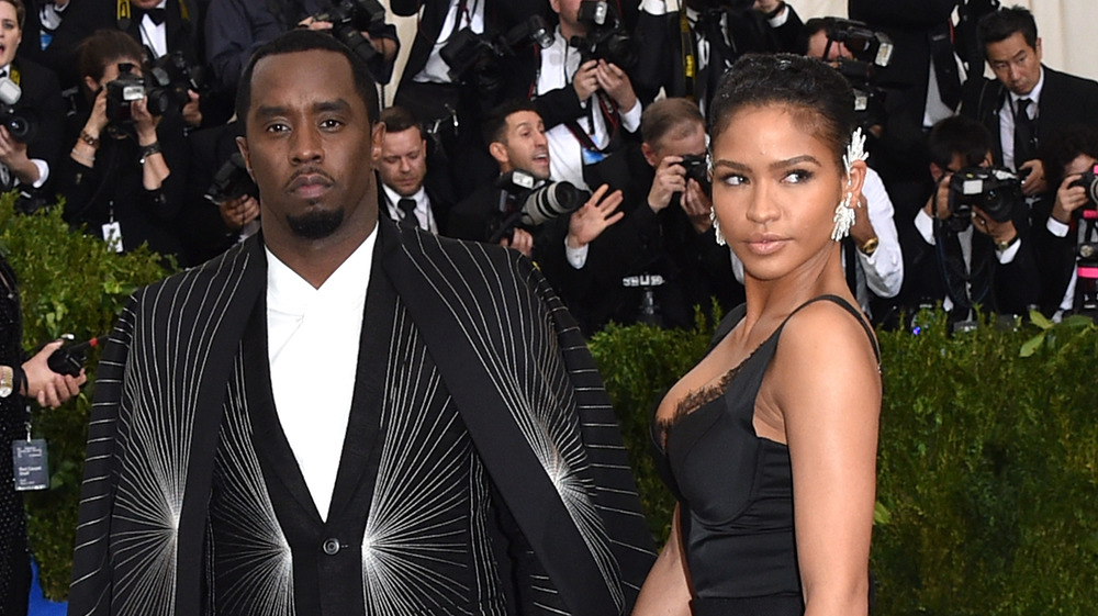 Diddy and Cassie at Met gala