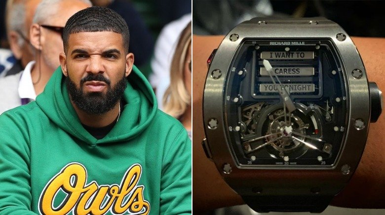 Drake's Richard Mille watch