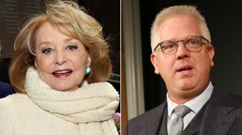 Barbara Walters and Glenn Beck