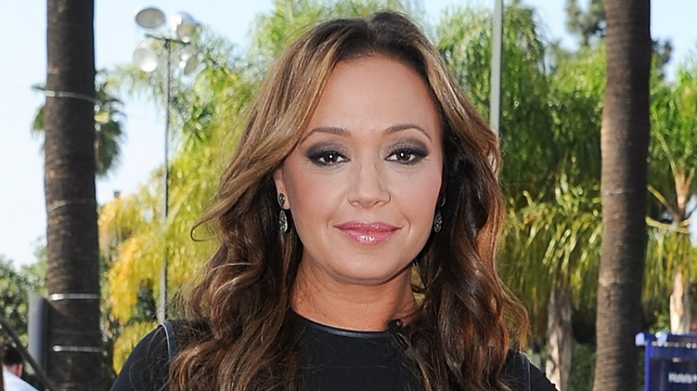 Leah Remini on Extra in 2013