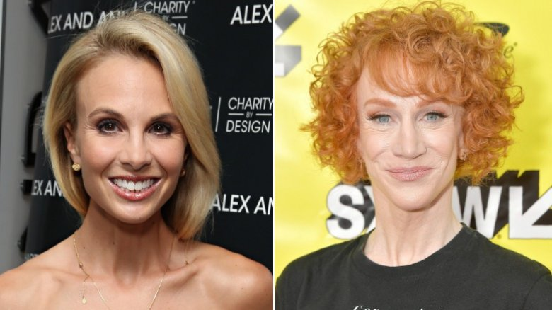 Kathy Griffin and Elisabeth Hasselbeck