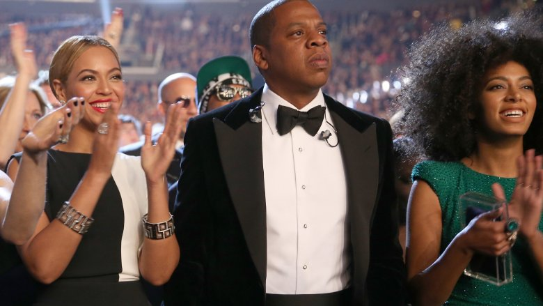 Beyonce, Jay-Z, and Solange Knowles