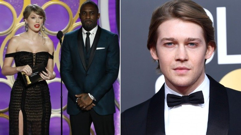 Taylor Swift and Joe Alwyn at the Golden Globes