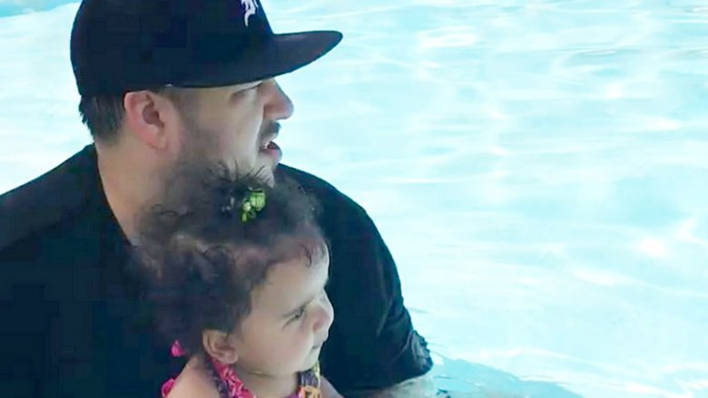 Rob Kardashian and Dream Kardashian