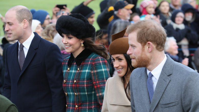 Prince William, Prince Harry, Kate Middleton, Meghan Markle