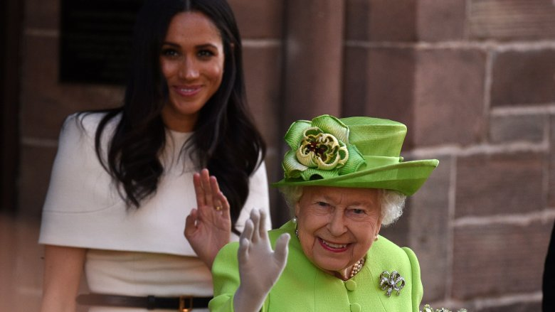 Meghan Markle & The Queen of England