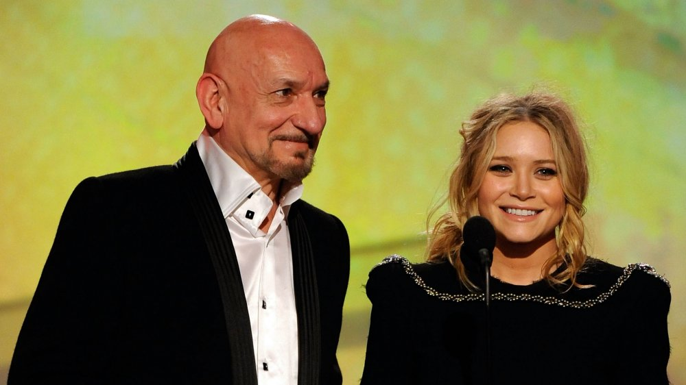 Ben Kingsley and Mary-Kate Olsen at the 24th Annual Film Independent's Spirit Awards