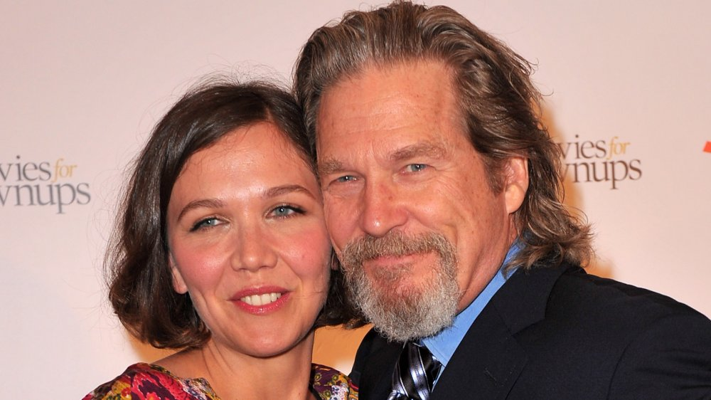 Maggie Gyllenhaal and Jeff Bridges at AARP's 9th Annual Movies for Grownups Awards