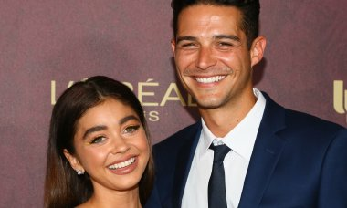 Sarah Hyland and Wells Adams