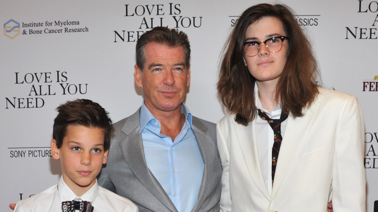 Pierce Brosnan's sons have grown up to be gorgeous